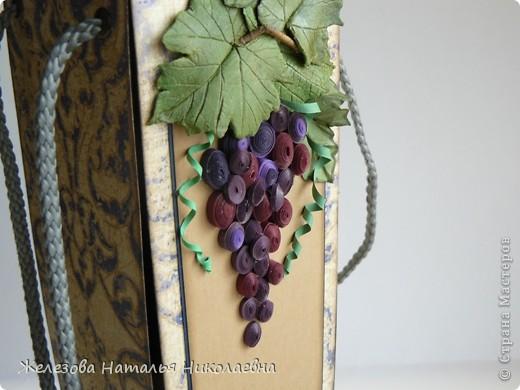 Комплект с зеленым виноградом фото 8