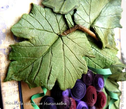 Комплект с зеленым виноградом фото 9