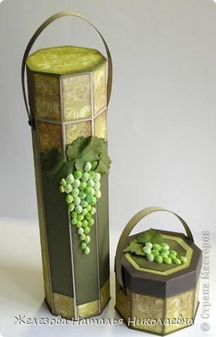 Комплект с зеленым виноградом фото 1