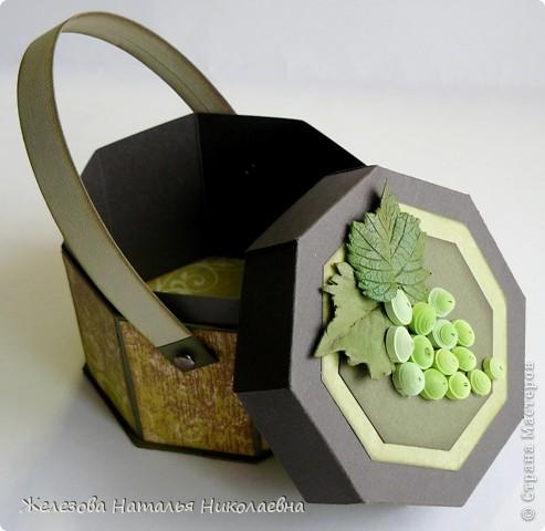 Комплект с зеленым виноградом фото 4