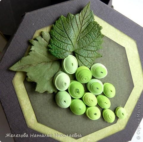 Комплект с зеленым виноградом фото 5