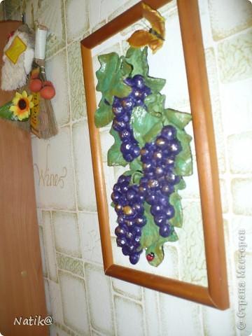 Виноград+подсолнухи+раки (тесто солёное) фото 3
