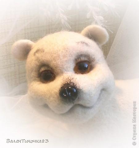 валянный северный мишка фото 3