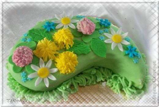 Тортик в виде капельки)