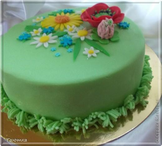 Уффф! Это пятый торт за сутки! Уставшая, но довольная! Как Вам тортик, дорогие мастерицы? фото 2