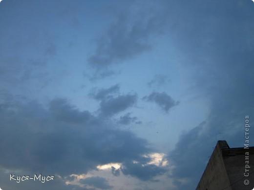"""Всем привет! Вот хочу немного разгрузить свои фото-папки:)) Это как-то вечером, делать было нечего, решила пофотографировать облака:)) В результате опять """"нарвалась"""" на образы:)). То ли я их ищу, то ли они меня :)). Но судить Вам, дорогие друзья!  Мне напомнил Райкина Аркадия :)). А Вам? фото 1"""