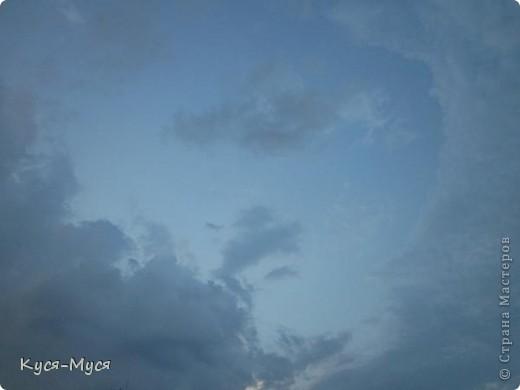 """Всем привет! Вот хочу немного разгрузить свои фото-папки:)) Это как-то вечером, делать было нечего, решила пофотографировать облака:)) В результате опять """"нарвалась"""" на образы:)). То ли я их ищу, то ли они меня :)). Но судить Вам, дорогие друзья!  Мне напомнил Райкина Аркадия :)). А Вам? фото 2"""