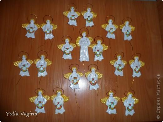 Привет, Страна!  Сделала на заказ ещё несколько ангелочков, по МК выложенному ранее http://stranamasterov.ru/node/369096 фото 1