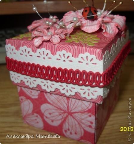 коробочка-сюрприз фото 6