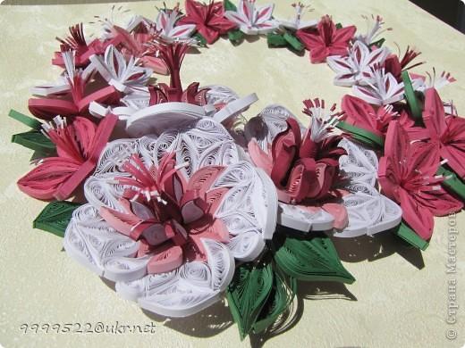 Это - сама нежность, волшебные цветочки делала на День Рождения своей сестричке.  фото 3