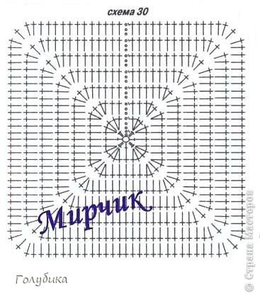 Схема вязания полувера женского 62