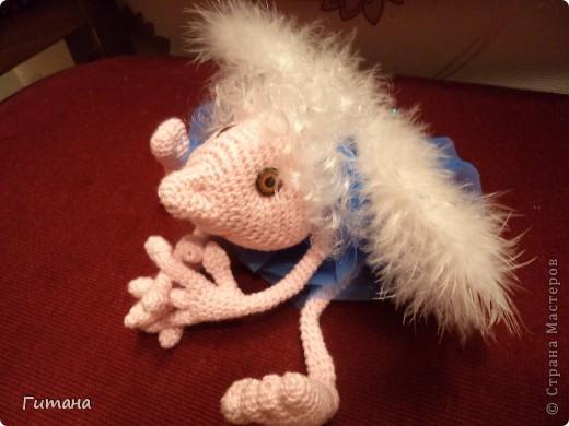 Замечательный ангелочек Пернатое Чудо от Светланы Перцевой. фото 3