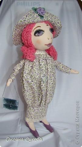 Рост у куклы 40см На этом фото платье длинное.... фото 1