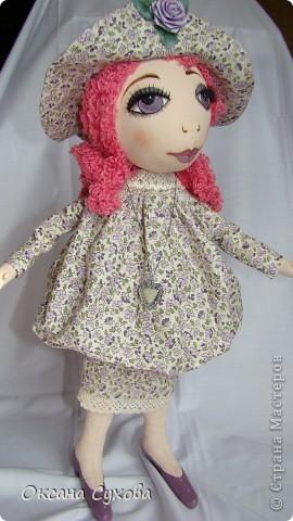 Рост у куклы 40см На этом фото платье длинное.... фото 2