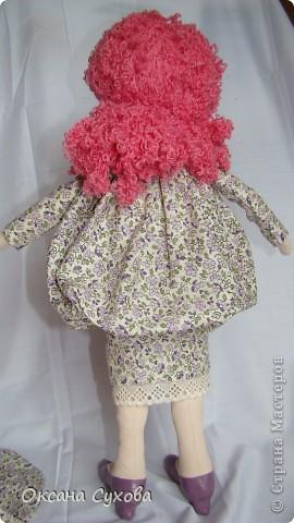 Рост у куклы 40см На этом фото платье длинное.... фото 4