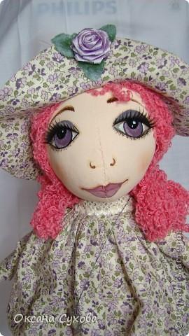 Рост у куклы 40см На этом фото платье длинное.... фото 3