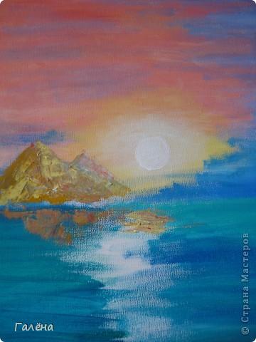 Закат на море. фото 11
