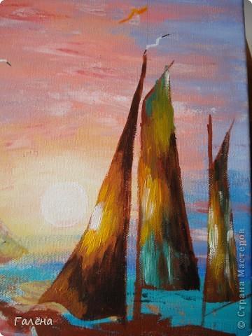Закат на море. фото 17