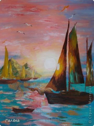 Закат на море. фото 19