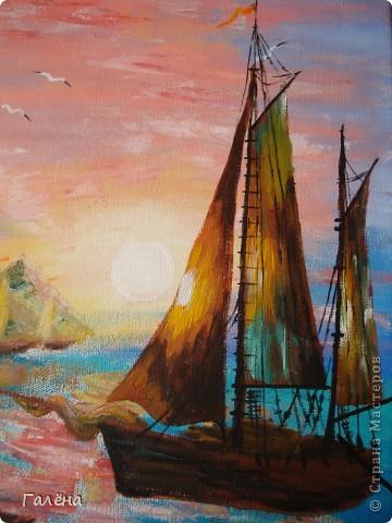 Закат на море. фото 20