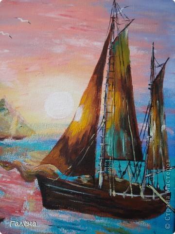 Закат на море. фото 21