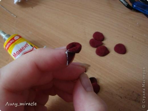 Роза из кожи фото 8