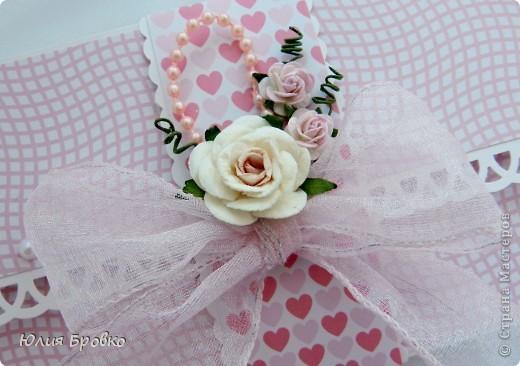 Приветик всем )) Вот снова у меня получился розовый конвертик )) фото 1