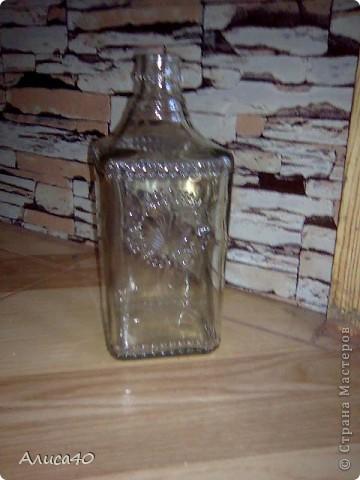 Мастер-класс Поделка изделие Лепка Дом бусинки  Бутылки стеклянные Тесто соленое фото 2