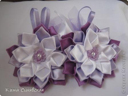 Вот такие цветочки-резиночки получились. фото 1
