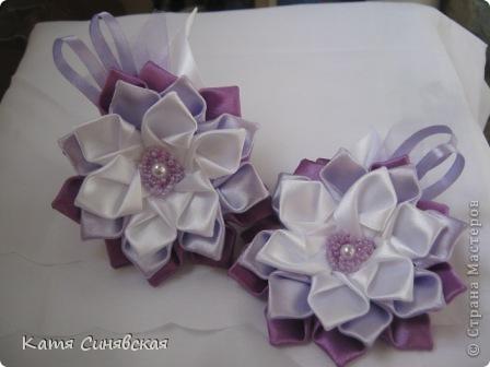 Вот такие цветочки-резиночки получились. фото 2