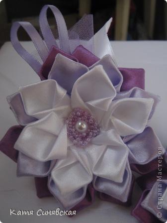 Вот такие цветочки-резиночки получились. фото 3