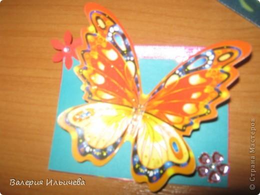 Вот такие объемные бабочки.Карточки АТС. Приглашаю: http://stranamasterov.ru/user/93460  http://stranamasterov.ru/user/102055 С удовольствием обменяюсь на карточки АТС, наклейки,скрапности,дырокольчики и прочие штуки для рукоделия. фото 8