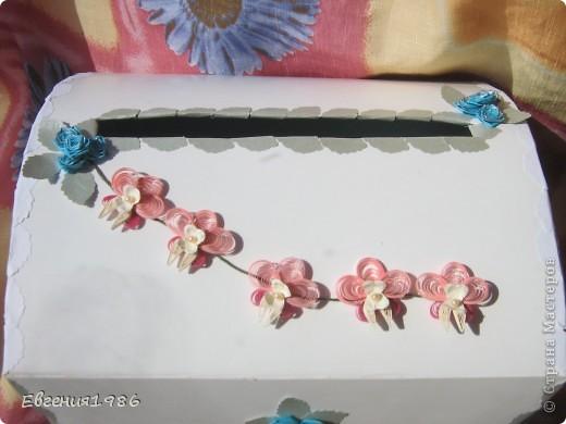 Добрый день всем!!!! В продолжении свадебной темы у меня родились вот такие работы: Первая это поздравление! Мы поздравляем мою подругу с завтрашней свадьбой!!!!  Идея взята тут http://astoriaflowers.blogspot.com/2012/04/blog-post_12.html  фото 6