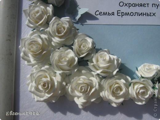 Добрый день всем!!!! В продолжении свадебной темы у меня родились вот такие работы: Первая это поздравление! Мы поздравляем мою подругу с завтрашней свадьбой!!!!  Идея взята тут http://astoriaflowers.blogspot.com/2012/04/blog-post_12.html  фото 4