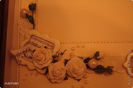 Свадьба не моя, моя отгремела 2 года назад. Совсем скоро моя сестренка отправится на свадьбу подруги. Всё это для нее и ее избранника. Открытка и конвертик для денежного подарка :) фото 8