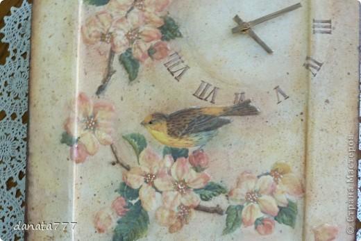 """Часы """"Пел соловей, цветы благоухали..."""" фото 2"""