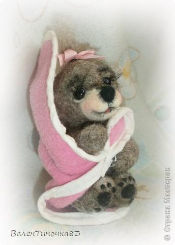 новорожденная мишка-малышка фото 5