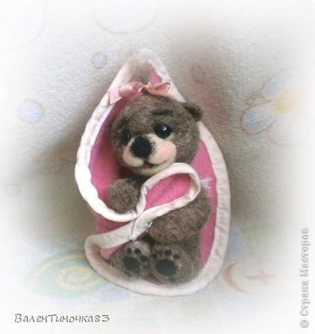 новорожденная мишка-малышка фото 4