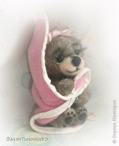 новорожденная мишка-малышка фото 3