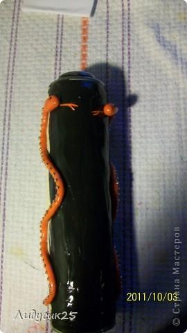 моя новая баночка для мамы со змеями фото 2
