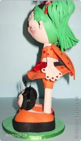 Эти кукла выполнены в стиле E.V.A из так называемой пористой резины Дальше фото каждой куклы по отдельности фото 7