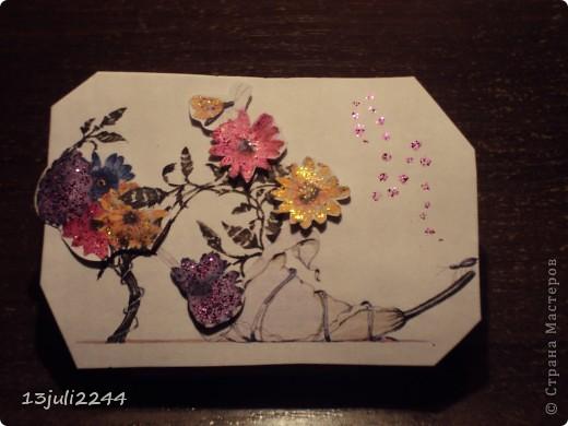 Представляю вашему вниманию новую серию АТС карточек. Случайно наткнулась на эти рисунки в нете и не смогла пройти мимо)))) фото 9
