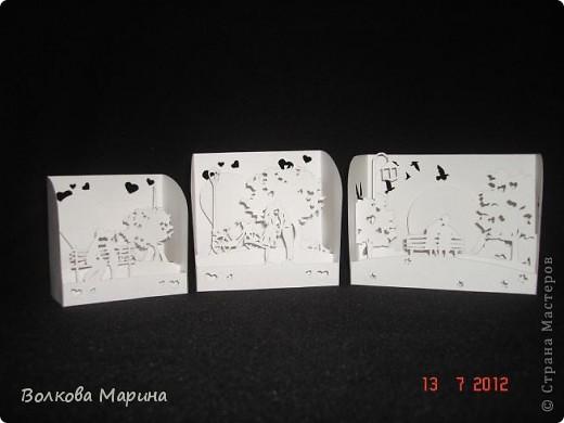 Вот такие любовные миниатюрки у меня получились. Увидела на просторах интернета - не могла не повторить такую прелесть!!! фото 1