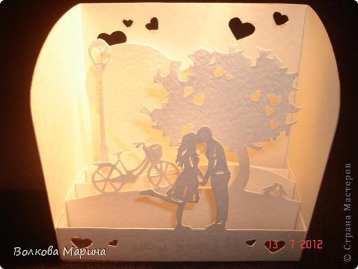 Вот такие любовные миниатюрки у меня получились. Увидела на просторах интернета - не могла не повторить такую прелесть!!! фото 7