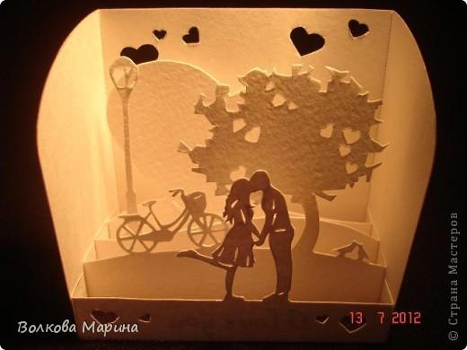 Вот такие любовные миниатюрки у меня получились. Увидела на просторах интернета - не могла не повторить такую прелесть!!! фото 8