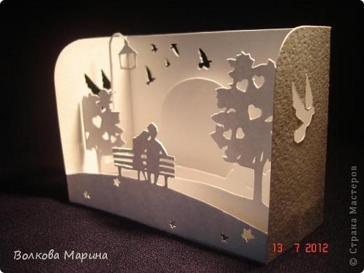 Вот такие любовные миниатюрки у меня получились. Увидела на просторах интернета - не могла не повторить такую прелесть!!! фото 9
