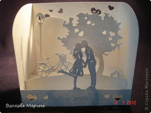 Вот такие любовные миниатюрки у меня получились. Увидела на просторах интернета - не могла не повторить такую прелесть!!! фото 10