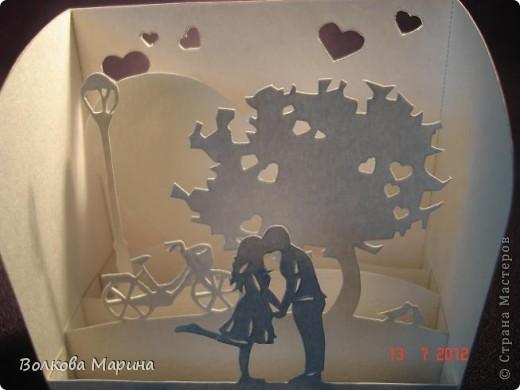 Вот такие любовные миниатюрки у меня получились. Увидела на просторах интернета - не могла не повторить такую прелесть!!! фото 12
