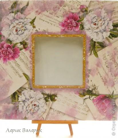 Здравствуйте,уважаемые мастерицы))) Было хорошее настроение, решила сделать шкатулку в морском стиле и зеркальце с принтом моих любимых цветов)И вот что получилось) фото 8