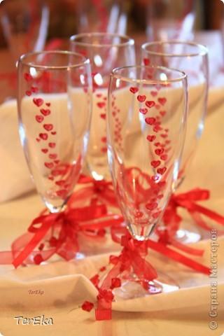 бокалы для гостей фото 1
